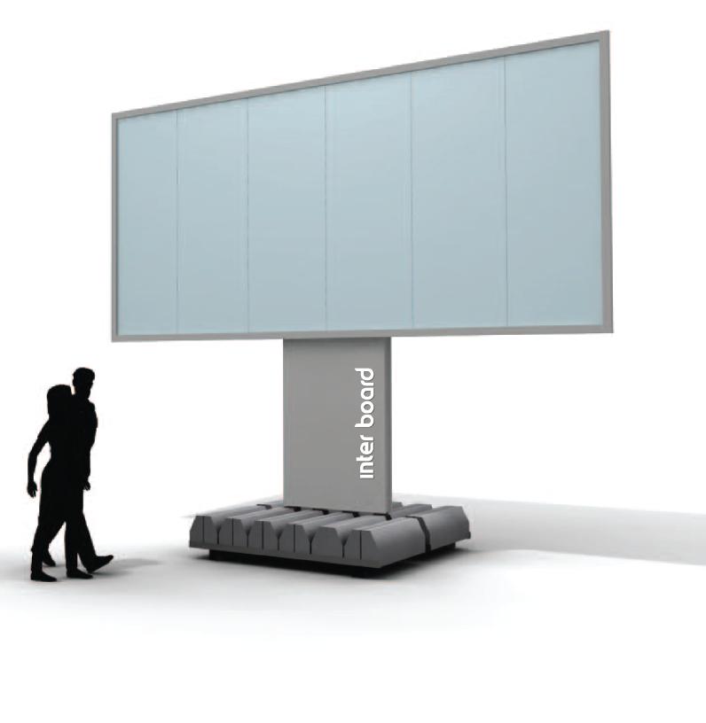 konstrukcje reklamowe, konstrukcje reklamowe wolnostojące