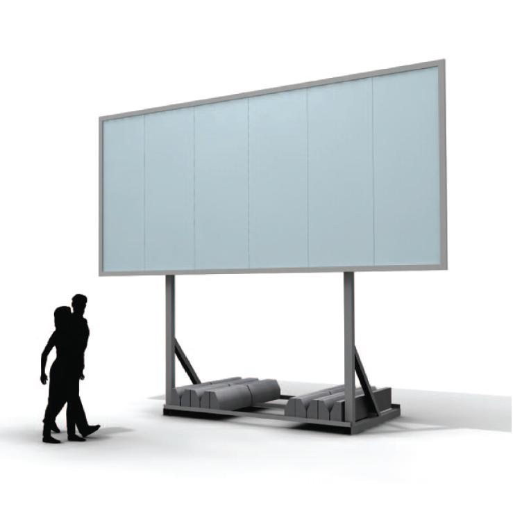 konstrukcje reklamowe wolnostojące